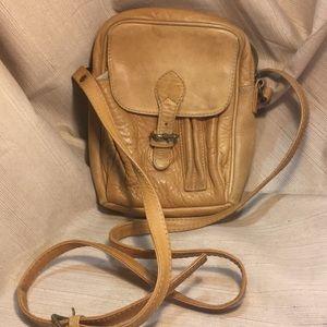 Ellington leather crossbody purse